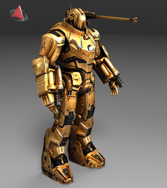 3d model iron mark