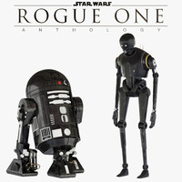 k-2so star wars droid 3d fbx