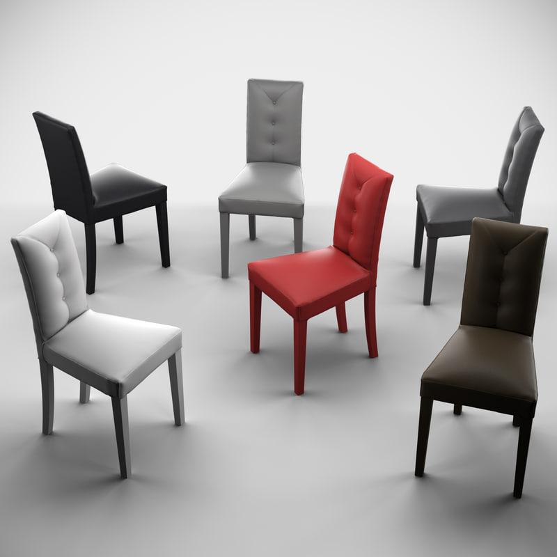3d zurigo dining chair