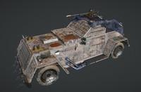 apocalyptic car obj