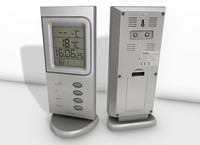digital room thermometer 3d model