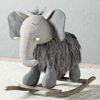 Plush Rocking Elephant