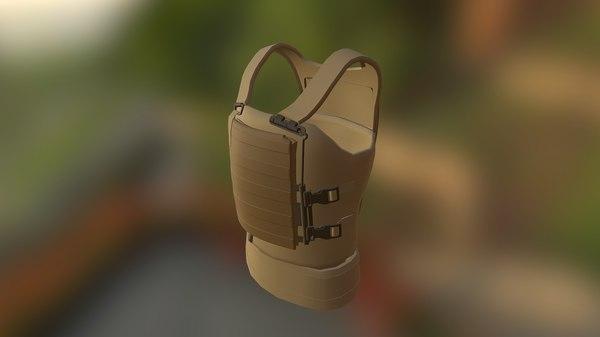 max military body armor