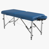 earthlite luna portable massage table 3d max