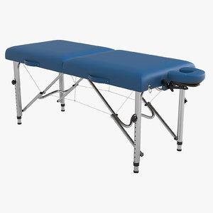 earthlite luna portable massage table 3d max