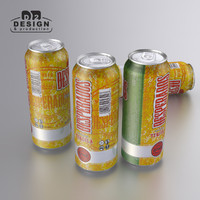 beer desperados 3d model