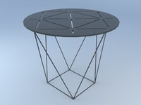 3d model joco occasional table