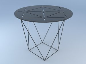 3d model joco occasional table