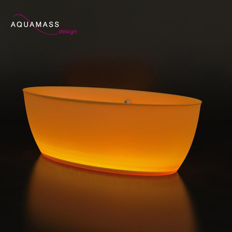bathtub aquamass 3d model