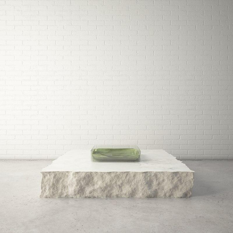 3d custom designed coffee table