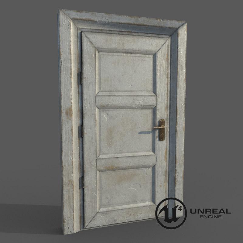 ready wooden door max