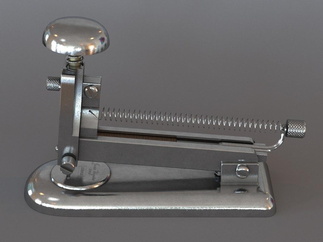 max stapler vintage