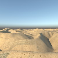 realistic desert max