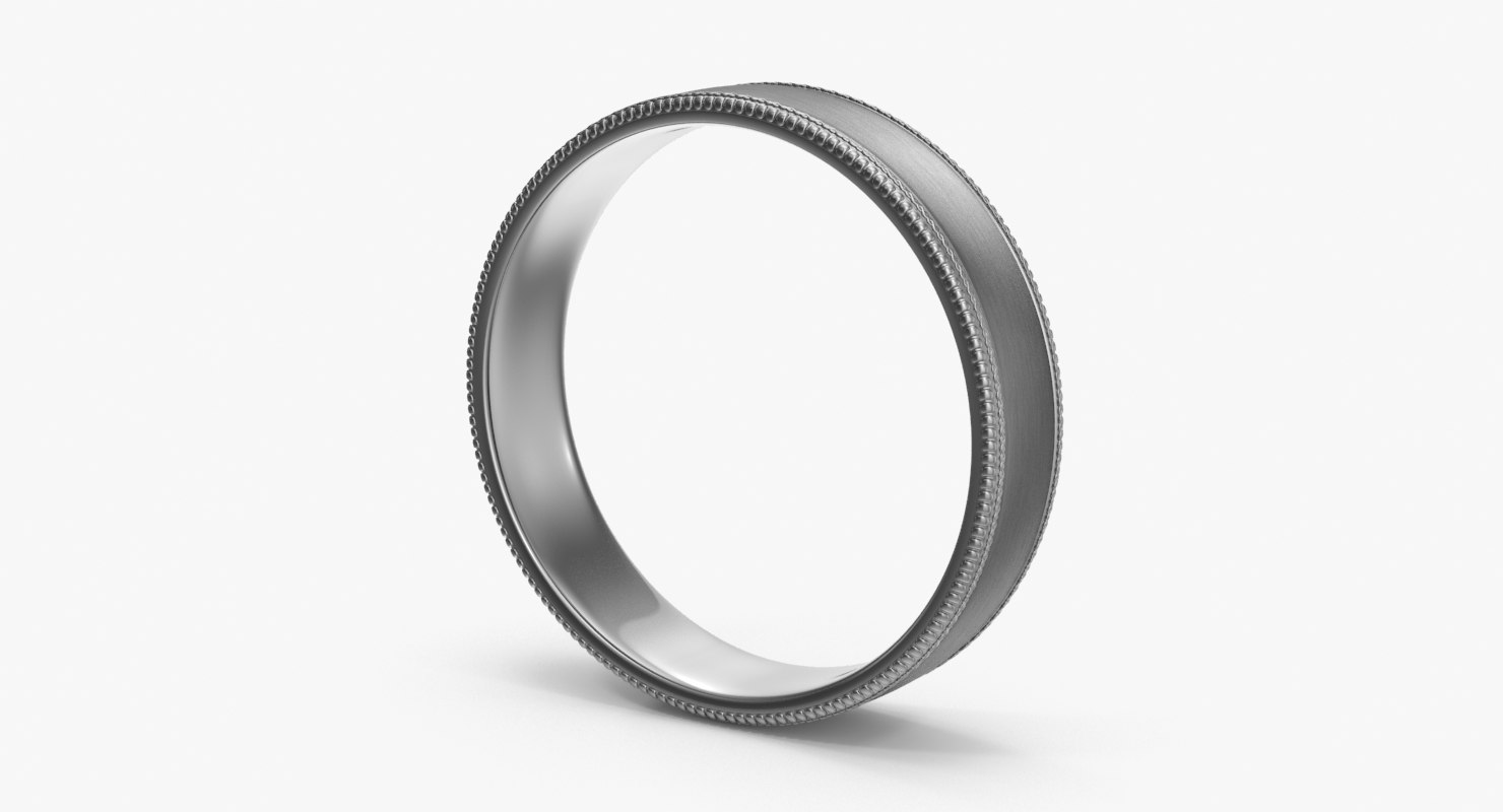 wedding ring 02 3d max