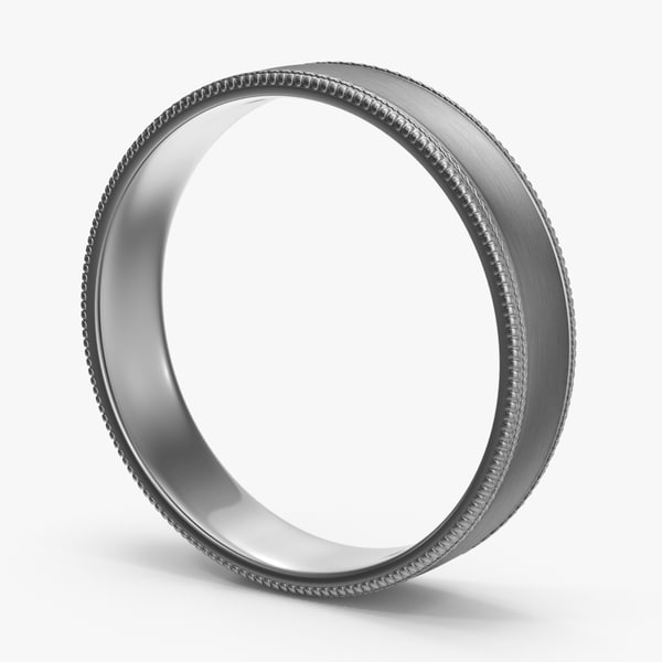 wedding ring 02 3d max