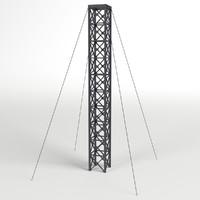 3d model of pylon
