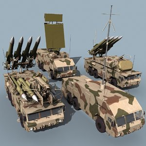 3d buk-m2e sa-17 grizzly battalion model