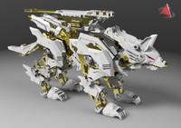 3d model of zoid