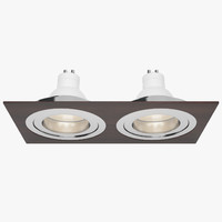 3d downlight spotlight light