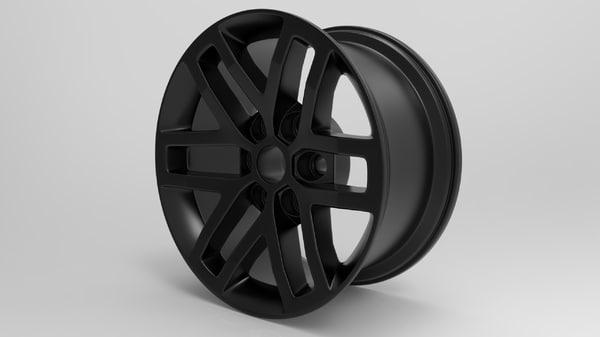 wheel raptor 2016 3d max