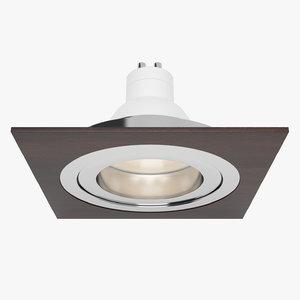 downlight spotlight light 3d 3ds