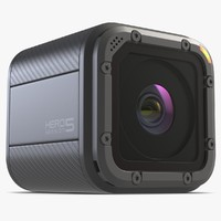 action gopro hero 5 obj