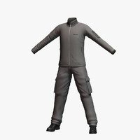 3d model mens clothing 4