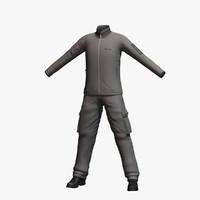 3d model mens clothing 4