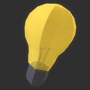 c4d light bulb