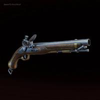 max flintlock pistol