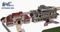 3ds optimized building