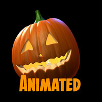 Animated Halloween Pumkin