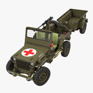 max willys jeep 44 trailer