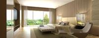 3ds bedroom bed