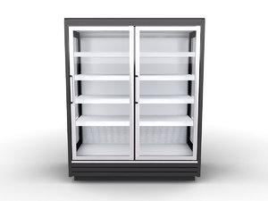 frozen food cabinet 3ds