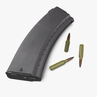 3d 3ds assault rifle magazine