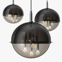3ds gianelly - globe ceiling light