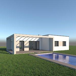 3ds single house