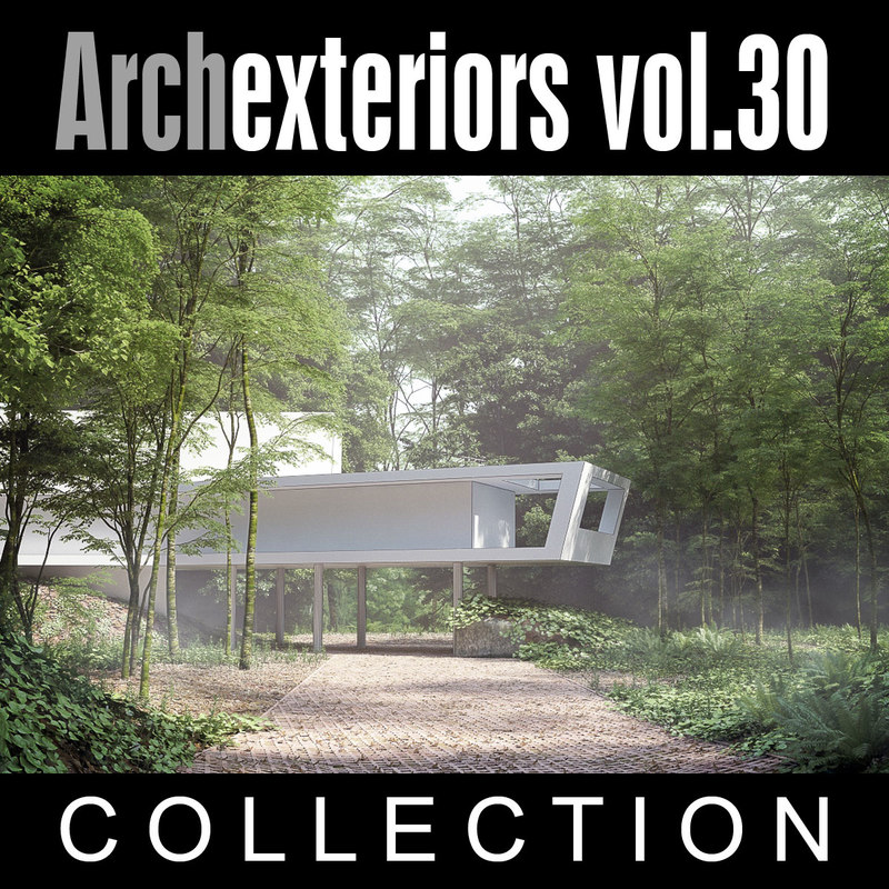 archexteriors vol 30 exteriors 3d model
