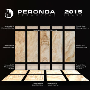 ceramic tiles peronda irasa 3d model