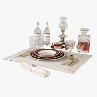 Ralph Lauren Duke Tabletop Collection