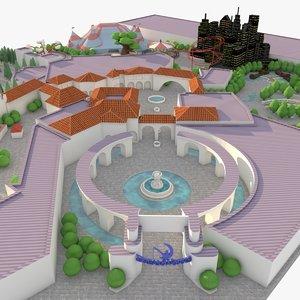 max dreamworks animation studio maquette