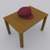 3ds cap modelled blender