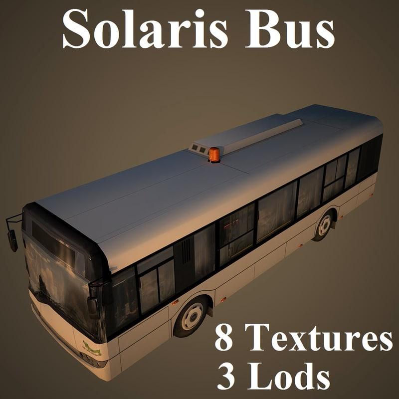 3d max solaris bus