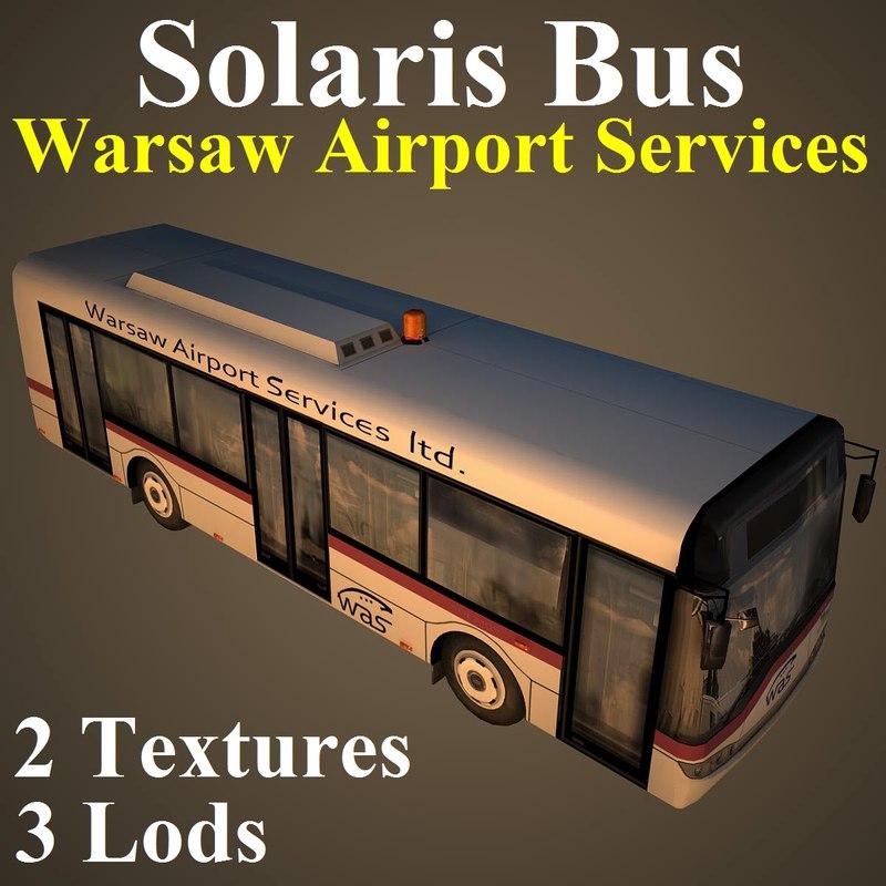 solaris bus 3d max