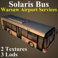solaris bus 3d max