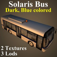 solaris bus dbl 3d max