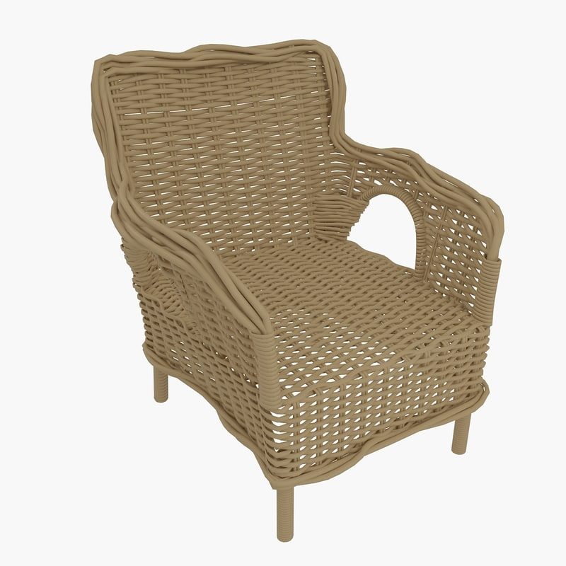 armchair ikea 3d model