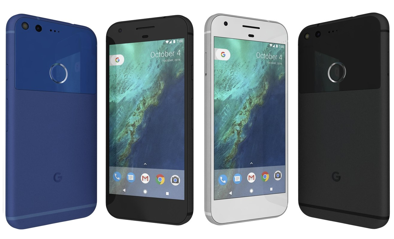 obj google pixel colors