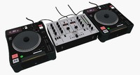 DJ CD Turntable Mixer